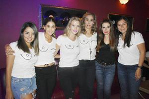 Ali, Luzma, Karla, Pily, Gina y Flor