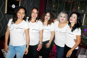 Luly, Gina, Cristina, Vanessa y Adriana