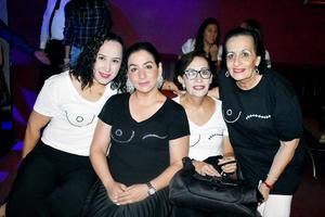 Sara, Geovana, Lupita y Magadalena