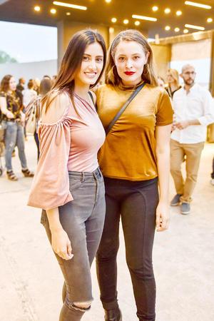 Jessica y Alejandra Jaramillo.