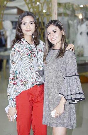 María Pimente y Vanessa Quintero