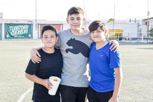 Andres, Javier y Alejandro
