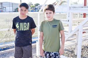 Juan Pablo y Santiago.