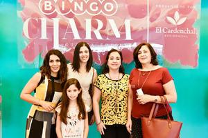 Ana Cecilia, Jime, Sandra, Norma y Sara