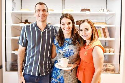 Adrian, Nuri y Daniela