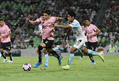Santos vs Querétaro Apertura 2019    Santos Laguna vs Gallos Blancos del Querétaro Final Santos 1 Querétaro 0 Apertura 2019 Jornada 16