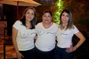 30102019 SONRíE SÓLO ES CáNCER.  Estela, Blanca y Tita.