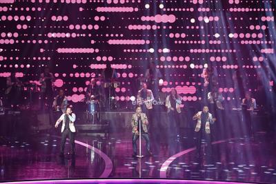 El grupo Cañaveral actúa en la entrega de los premios Las Lunas del Auditorio 2019.