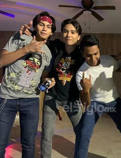 Jeffry, Santi y Damián.