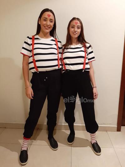 Anily y Alejandra.