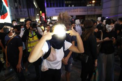 Desafiaron la reciente prohibición de manifestarse con el rostro cubierto.