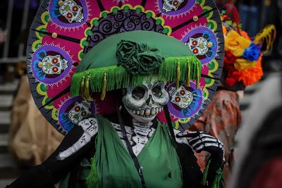 Mega Desfile de Día de Muertos 2019 en CDMX.