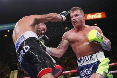 Se impuso a lo grande a su oponente.