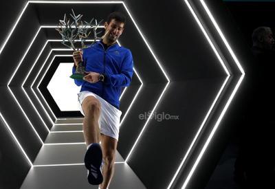'Nole' apunta ahora a las Finales de la ATP, que se jugarán del 10 al 17 de noviembre.