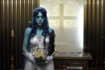 Emily, protagonista del filme El cadáver de la novia, de Tim Burton.