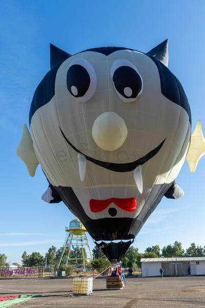 El Halloweeen también se vio presente durante el Sky Fest.