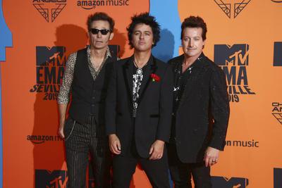Green Day. Spain European MTV Awards 2019 Arrivals