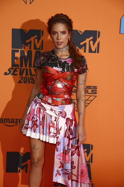 Helsey. Spain European MTV Awards 2019 Arrivals