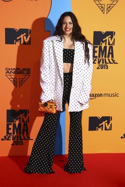 Rosalia.  Spain European MTV Awards 2019 Arrivals