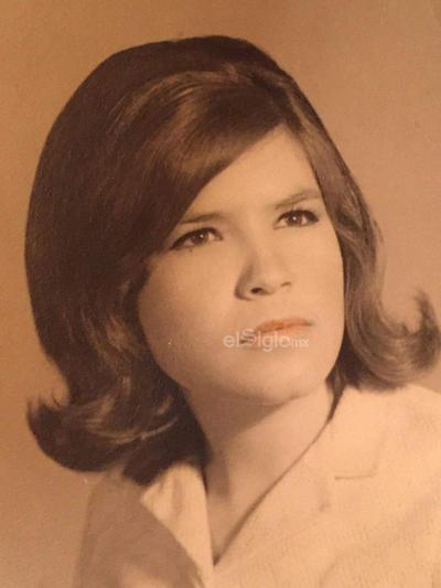 Blanca María del Rosario González Cuéllar. Años setenta.