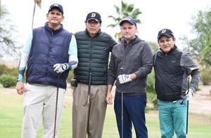04112019 Armando López, Carlos Murillo, Francisco Burelo y Manuel Ortiz.