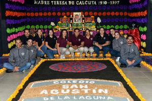 05112019 Creadores del altar: Francisco, Julieta, Rolando, Deisy, Carla, Olimpia, Aldo, Lizbeth, Mabel, Alejandra, Fátima y Hugo.