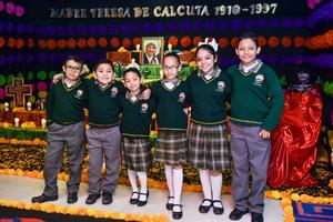 05112019 Diego, Matias, Andrea, Zuria, Bárbara y Andy.