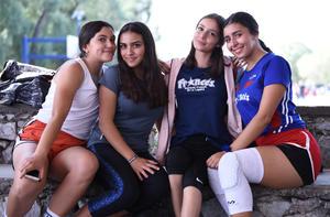 06112019 Mónica Reyes, Samantha Von Den Bogaara, Jessica Porras y Daniela Sáenz.