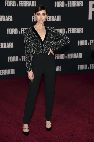 Sofia Carson LA Premiere of Ford v Ferrari