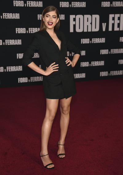 Valentina Sampaio LA Premiere of Ford v Ferrari