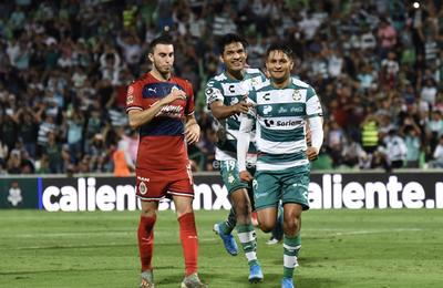 COPA MX SANTOS-CHIVAS     Santos Laguna 2 vs Chivas del Guadalajara 0 Copa MX