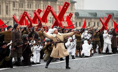 Rusia recreó la historia.