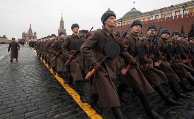 Revivieron un legendario desfile.