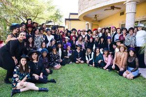 07112019 CUMPLE 50 AÑOS.  Liliana Guerrero disfrutó su cumpleaños con todas sus amigas.