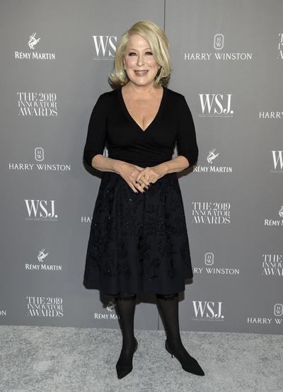 Bette Midler. WSJ Magazine 2019 Innovator Awards