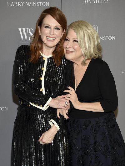 Julianne Moore y Bette Midler. WSJ Magazine 2019 Innovator Awards