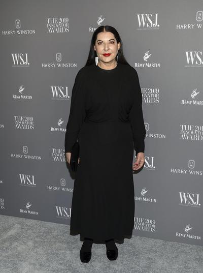Marina Abramovic. WSJ Magazine 2019 Innovator Awards