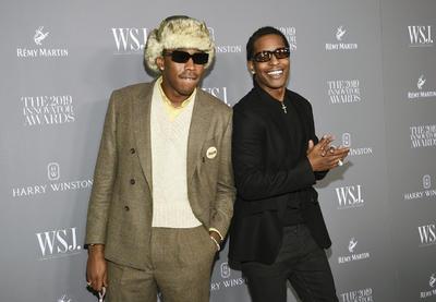 Tyler, the Creator y A$AP Rocky. WSJ Magazine 2019 Innovator Awards