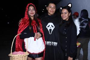 08112019 Melissa Esquivel, Ana Pola Díaz y Marbella Alvarado.