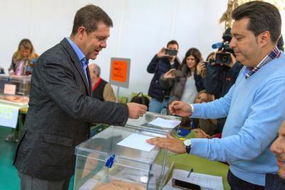 El presidente de la Junta de Castilla-La Mancha, Emiliano García Page.
