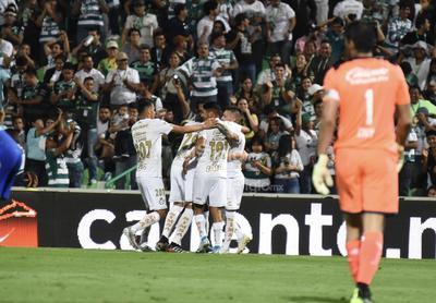 Santos Laguna vence a Cruz Azul y es líder del Apertura 2019
