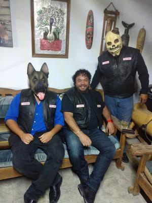 10112019 ANIVERSARIO.  Moto Club Templarios en La Laguna celebran aniversario y lo replican en todos los lugares donde tienen hermanos.