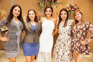 09112019 Concepción Mendieta, María Medina, Diana, Laura Wong y Cristina Butanda.