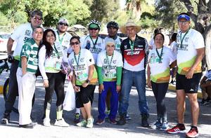 10112019 PARTICIPAN EN CARRERA.  Club de atletismo Laguna Bikes.