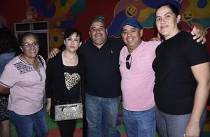 09112019 Elena, Sergio, Amparo, Ricardo y Luly.