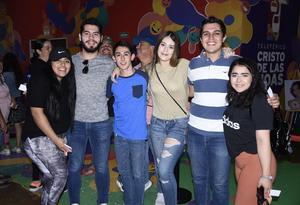 09112019 Karime, Guillermo, Dafne, Ricardo, Aram y Grecia.