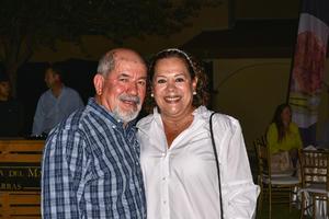 10112019 EVENTO EN EL CAMPESTRE DE TORREóN.  Miguel García y Martha De la Fuente.