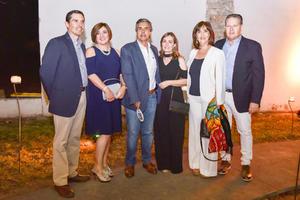 Mario,Elena,Juan Carlos,Pilar,Toño y Cony.
