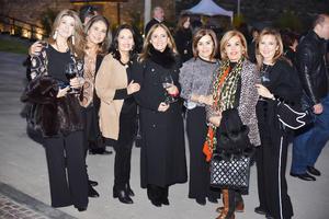 Karina, Pilar, Claudia, Elvira, Magdalena, Cony y Brenda