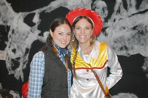 Barbara y Andrea.